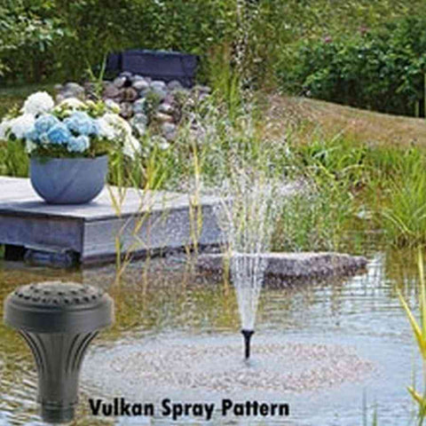 Oase Vulcan 1 inch Blossom Fountain Nozzle-Fountain & Fountain Pumps-Oase-Kinetic Water Features