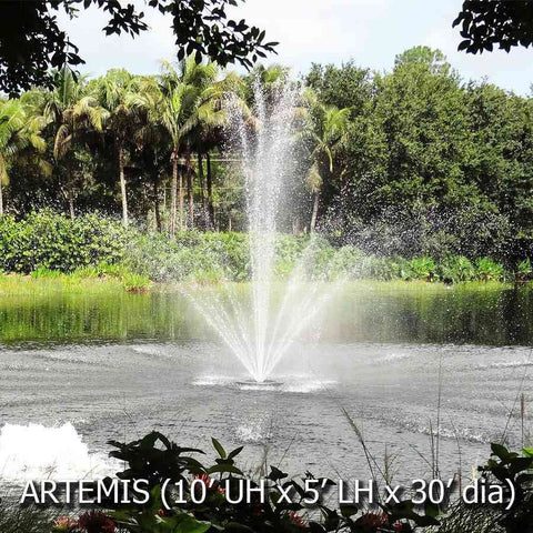 Power House Olympus Display Fountain - 0.33HP-Power House-Kinetic Water Features