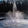 Image of Power House Vertical Fixed Base 1/3 HP Shallow Pond Fountain-fountain-Power House-Kinetic Water Features