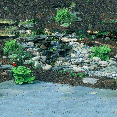 Savio 13 ft. Pond Free Waterfall Kit PF1000-waterfall kit-Savio-Kinetic Water Features