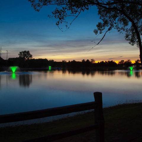Scott Aerator Color-Changing LED Fountain Light Sets-Scott Aerator-Kinetic Water Features