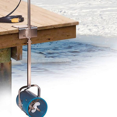 Scott Aerator Dock Mount De-Icer - 115 V-De-Icer-Scott Aerator-Kinetic Water Features