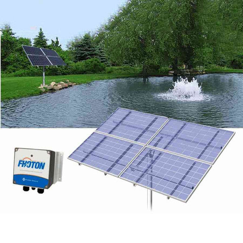 Scott Aerator Solar-Powered Pond Aerator-aerator-Scott Aerator-Kinetic Water Features