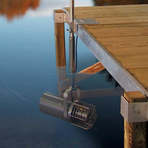 Scott Aquasweep Dock Mounted Lake Muck Blaster-Water Mover-Scott Aerator-Kinetic Water Features