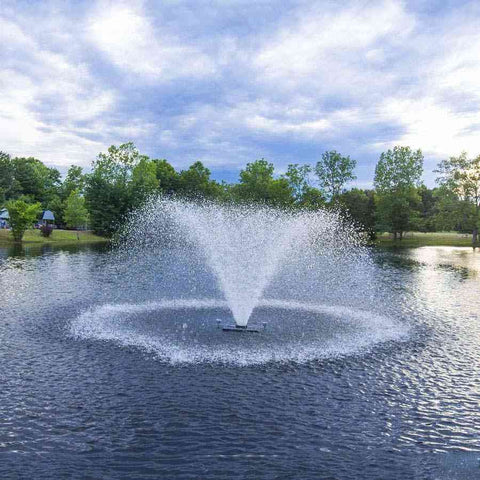 Scott North Star Fountain Display Aerator 1.5 HP-aerator-Scott Aerator-Kinetic Water Features