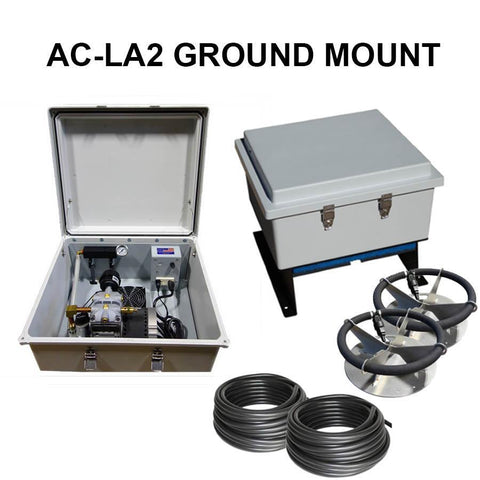 US Solar Mounts Grid-Tied AC Lake Aerators - AC-LA2-US Solar Mounts-Kinetic Water Features