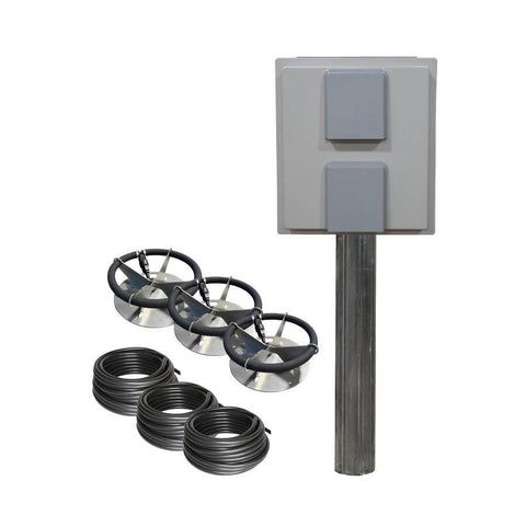 US Solar Mounts Grid-Tied AC Lake Aerators - AC-LA3-US Solar Mounts-Kinetic Water Features