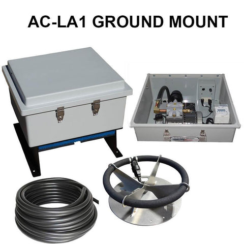 US Solar Mounts Grid-Tied AC Lake Aerators - Ground Mount-US Solar Mounts-Kinetic Water Features