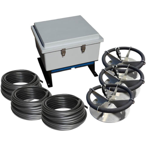 US Solar Mounts Grid-Tied AC Lake Aerators - Ground Mount-US Solar Mounts-Three-Kinetic Water Features
