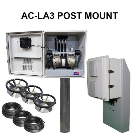 US Solar Mounts Grid-Tied AC Lake Aerators - Post Mount-US Solar Mounts-Kinetic Water Features