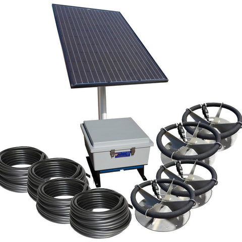 US Solar Mounts - SLA-SD4-BLDC Ground Mount Kit-US Solar Mounts-Kinetic Water Features