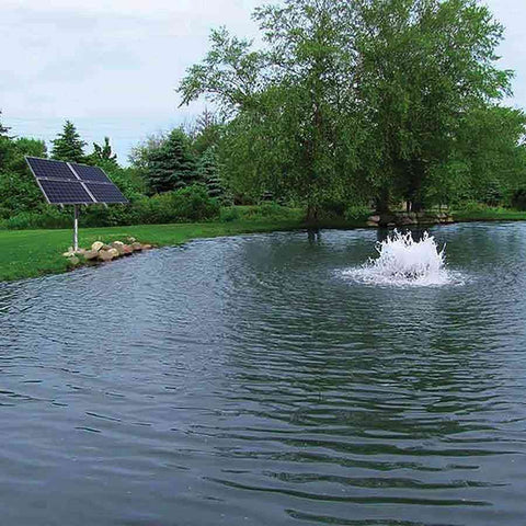 US Solar Mounts - Solar Boilermaker Surface Aerator for Ponds-US Solar Mounts-Kinetic Water Features