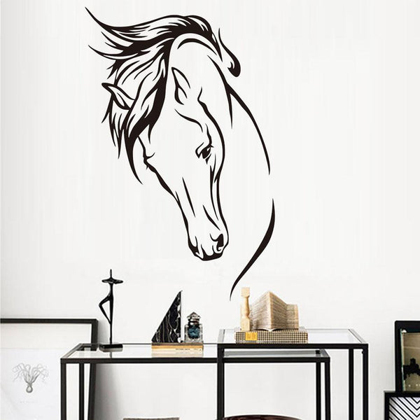 sticker cheval