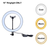 "10"" InStar™ Premium LED RingLight For Smartphone"