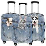 PhotoReal Fur Baby Luggage Covers