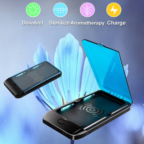 LUV™ Portable Phone Sanitizer and Wireless Charger