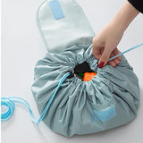 Travel Toy Storage Drawstring Tote Bag And Play Mat