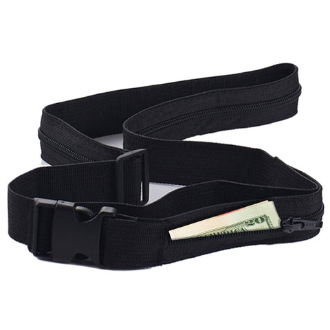 Discrete Premium Nylon Classic Money Belt - Set of 2