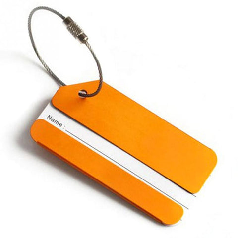 Minimalist Aluminum Alloy Luggage ID Tags