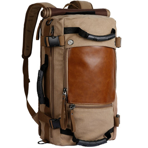 Classic Aviator 35-55L Capacity Multifunction Backpack