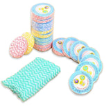 10pcs Compressed Fabric Reusable Hand Towels