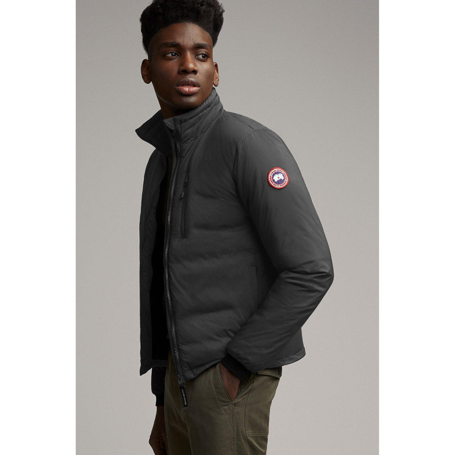 LODGE JACKET GRAPHITE-MENS WINTER COATS & JACKETS-CANADA GOOSE-JB Evans Fashions & Footwear