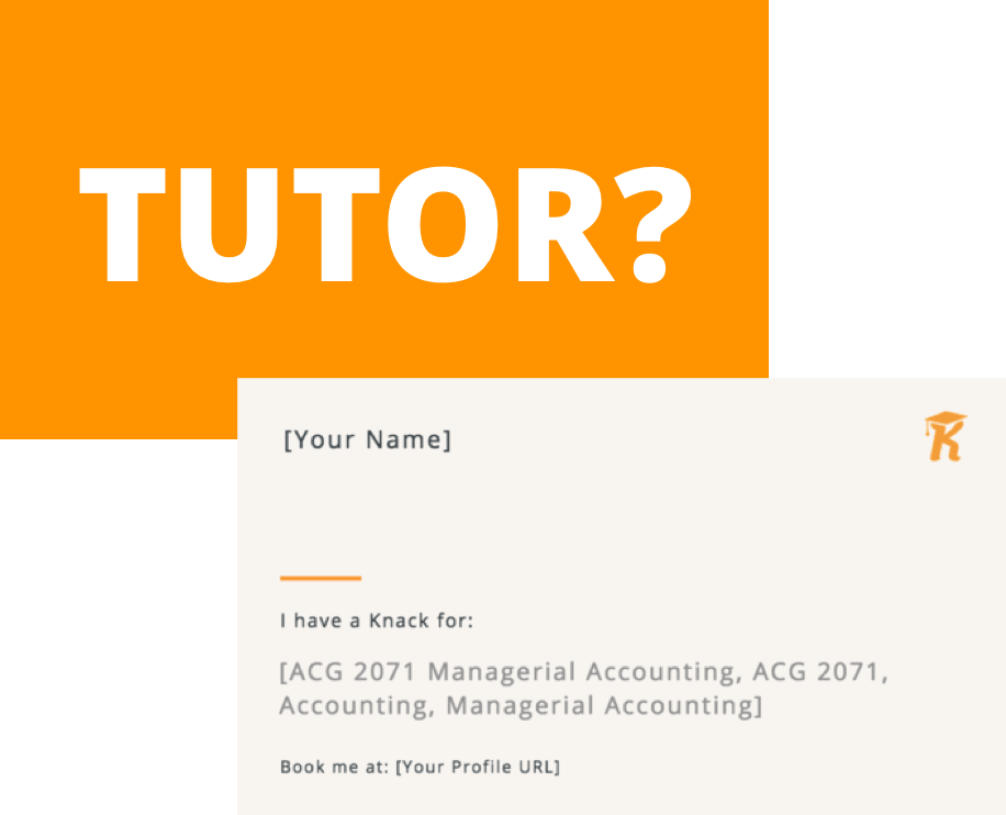 Tutor? - Business Cards
