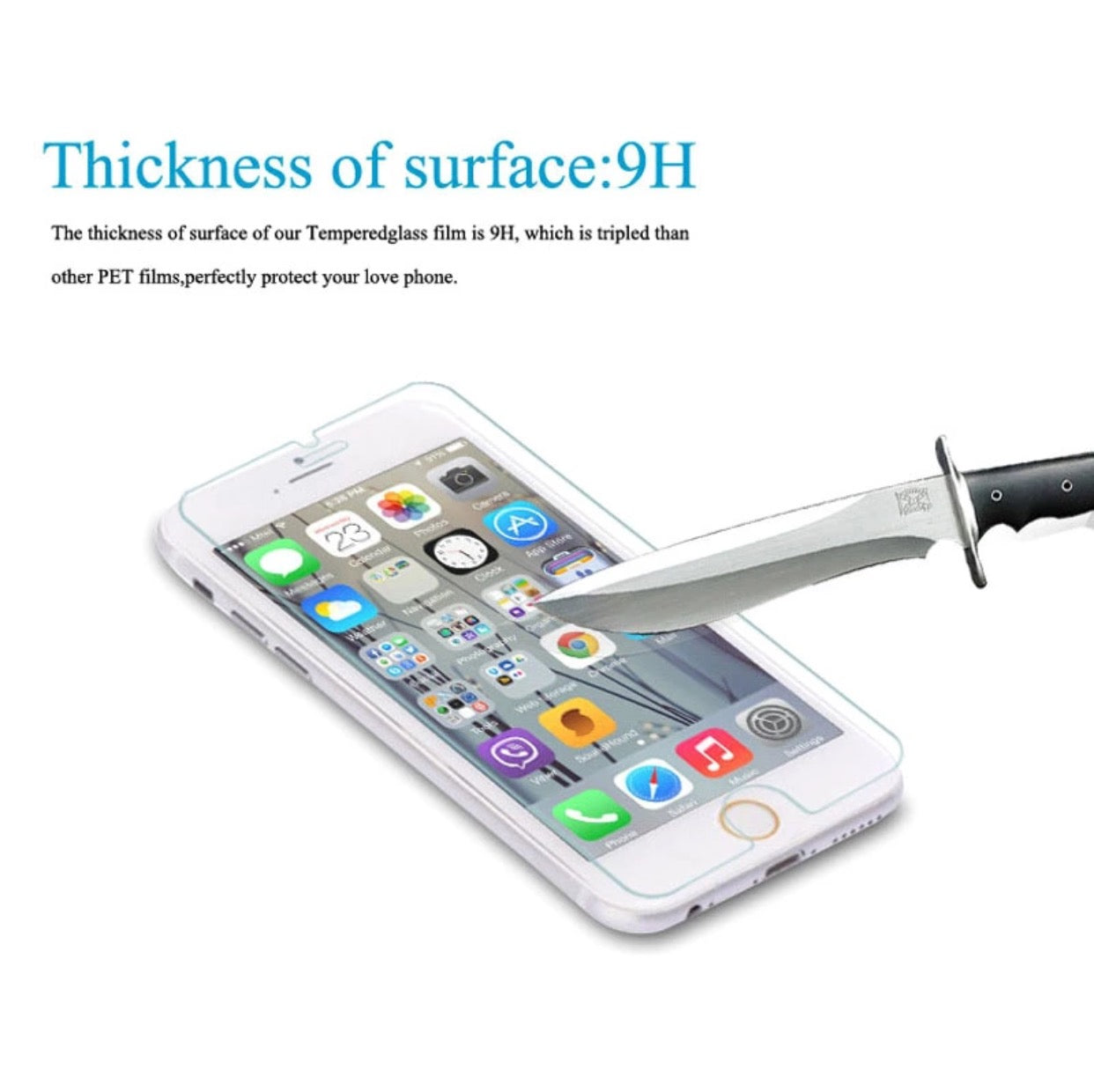Tempered Glass for iphone 7 and 7 Plus