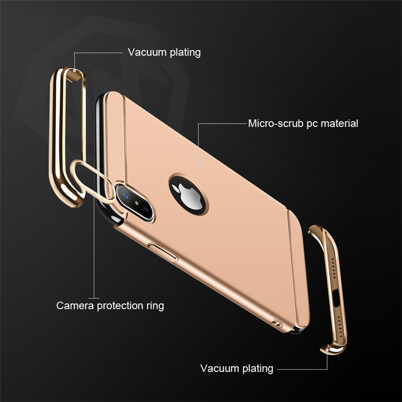Luxury Shockproof Business Look  Case Cover
