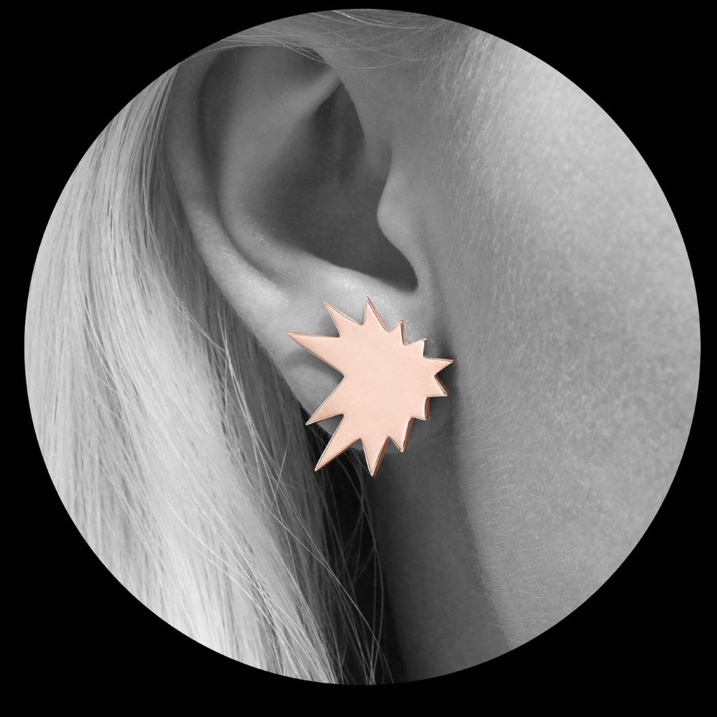 Splash Earring (Front)