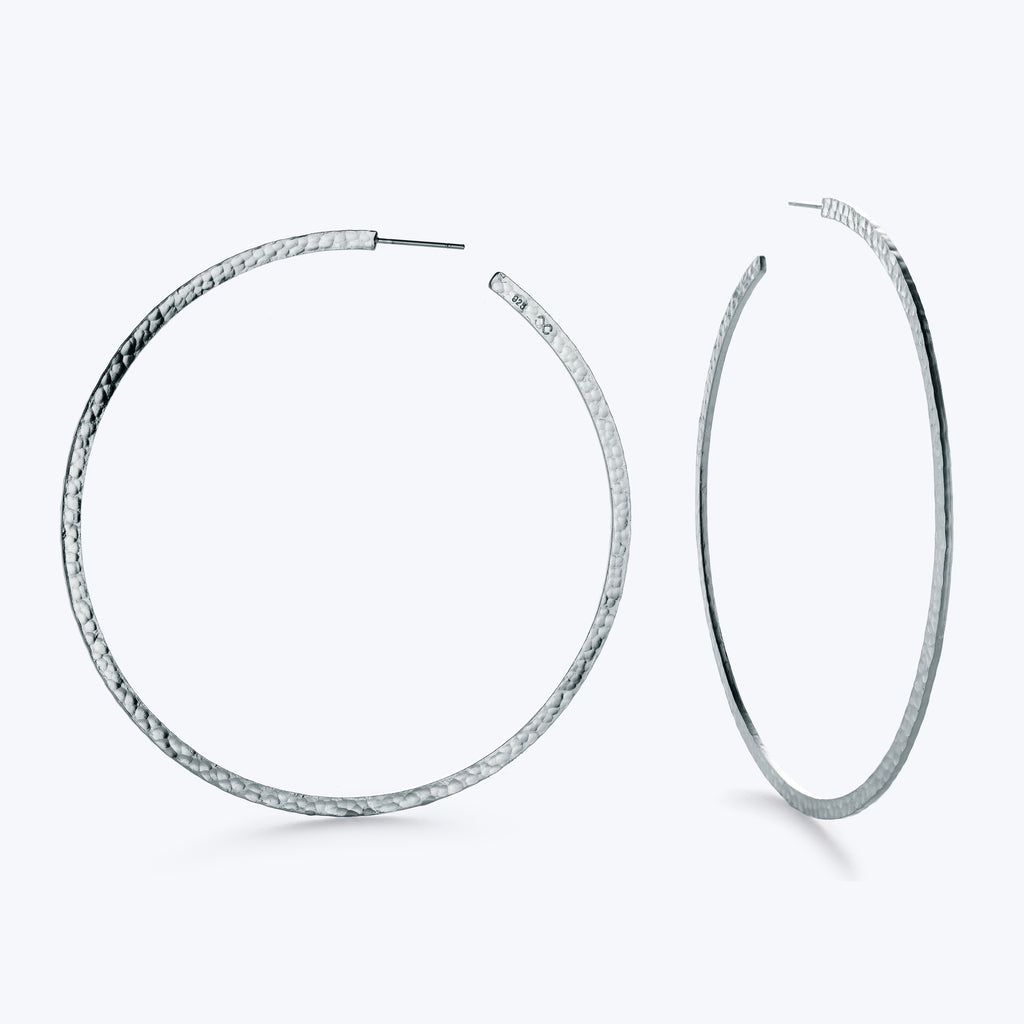 Martelé Side Earrings