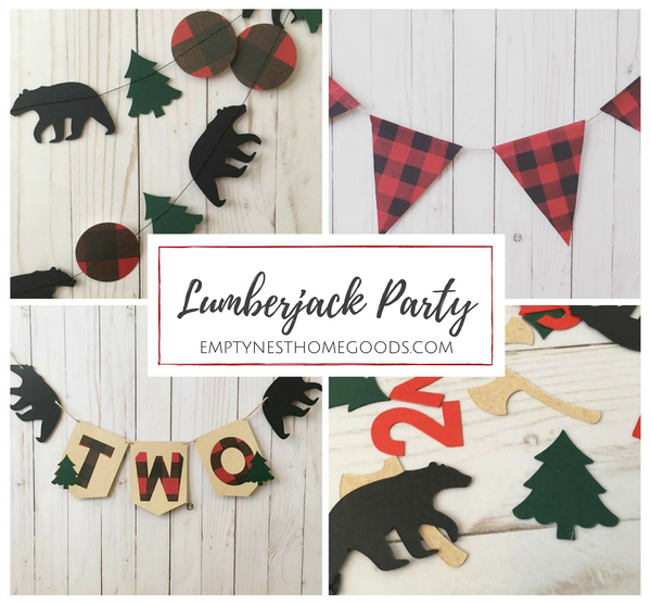 lumberjack party supplies