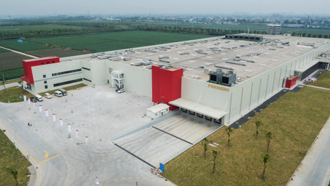 Ferrero Group's Chinese manufacturing plant
