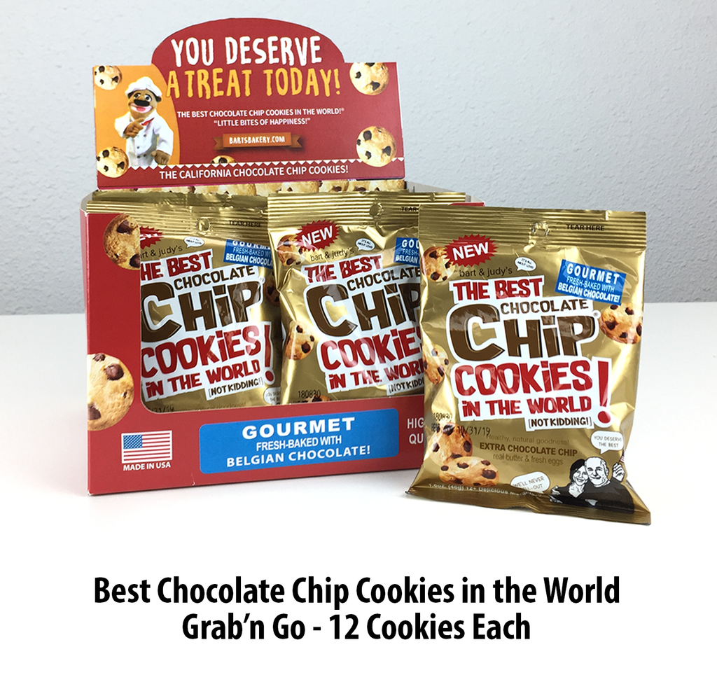 Grab'n Go snack size of The Best Chocolate Chip Cookies in the World