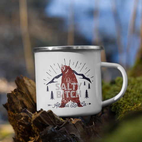 Salty Bitch Enamel Mug