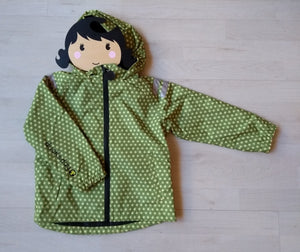 Ducksday Regenjacke funky green Ducksday