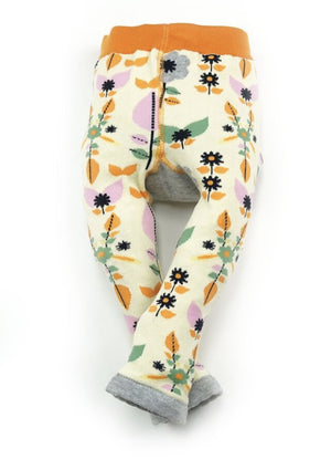 Leggings Strumpfhose Blumen Blade and Rose