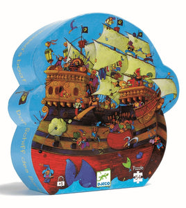 Puzzle Piratenshiff Djeco