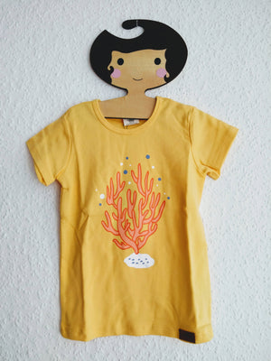 T-Shirt Kurzarm Algen-Koralen Walkiddy