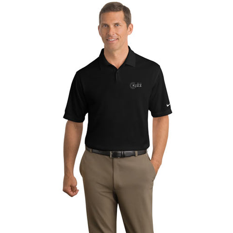 KJZZ Men's Nike Golf Dri-FIT Pebble Texture Polo