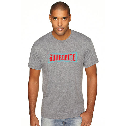 Soundbite Tri Blend T-Shirt Heather Gray
