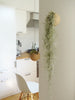 Indoor plant idea with 2 hanging spheres and Tillandsia Usneoidus (Spanish moss) in a kitchen