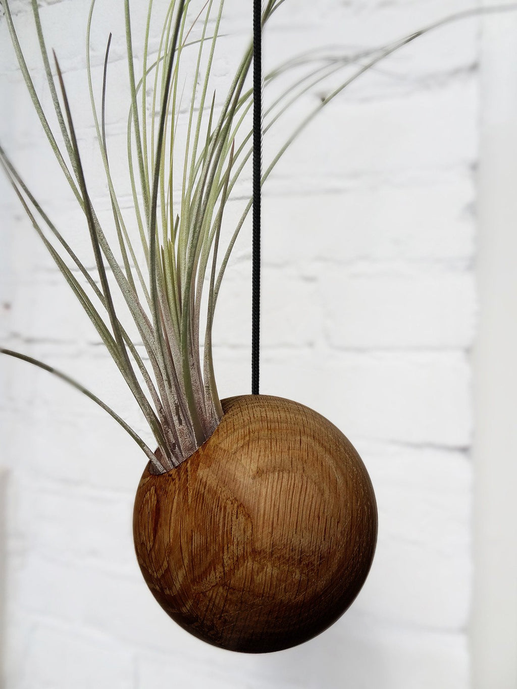 Hanging Sphere - Dark Oak