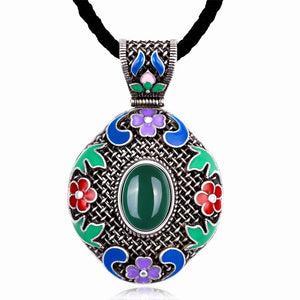 Women National Style Necklace