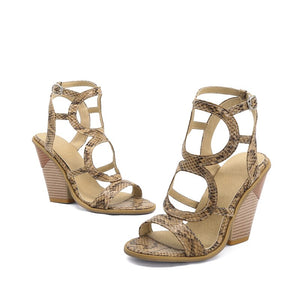 Summer Euro Style Women Gladiator Sandals