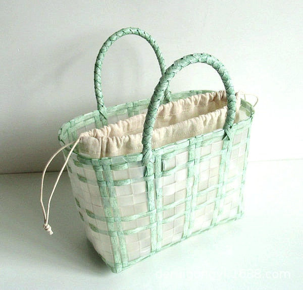 Rural Waterproof shopping basket beach bag