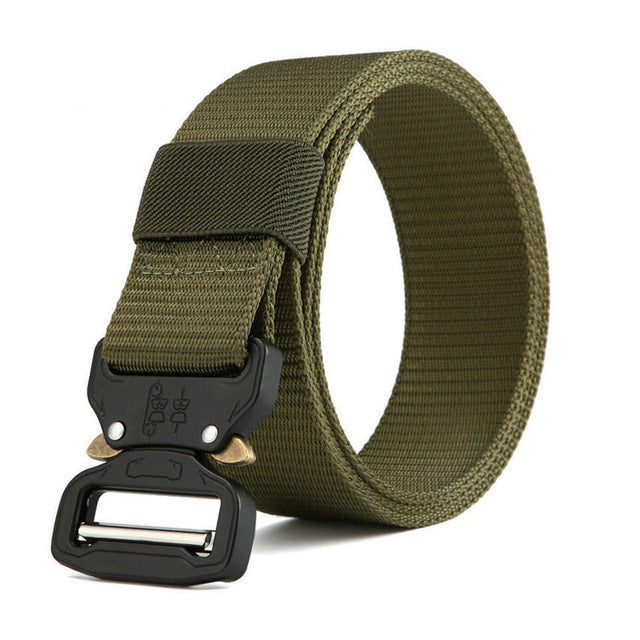 Tactical Belt New Nylon Army Belt Men Molle Military SWAT Combat Belts Knock Off Emergency Survival Belt Tactical Gear Dropship