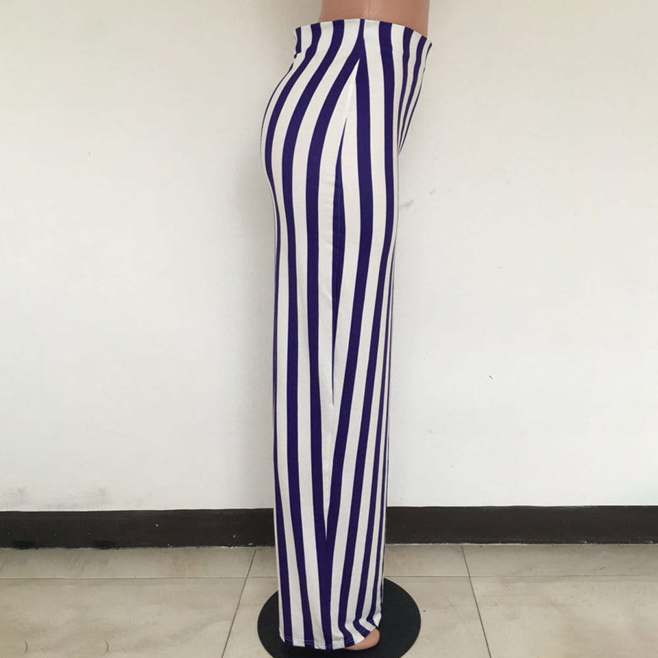 Women Striped Pencil Skirts