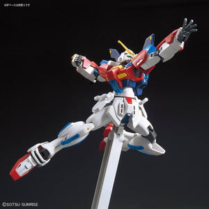 HG Star Burning Gundam and Action Base 1/144 Aqua Blue