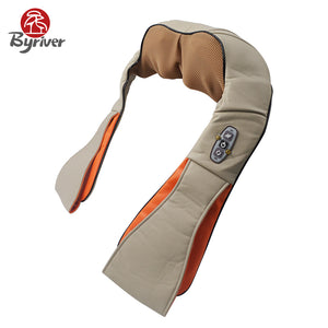 Electric Infrared Heat Neck and Shoulder Back Kneading Shiatsu Massage